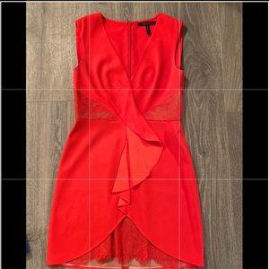 BCBGMAXAZRIA Red Dress